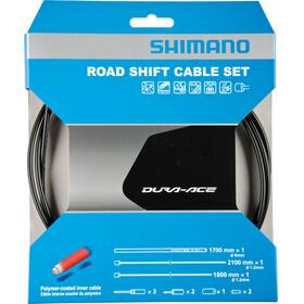 Shimano Road Linka przerzutki Powlekane polimerem czarny